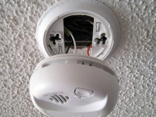 Mains powered smoke alarms