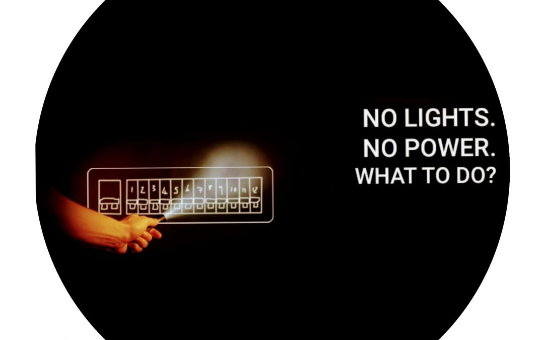 What to do if the lights go out!